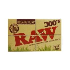 RAW Organic 1 ¼ 300's | רו 300 אורגני