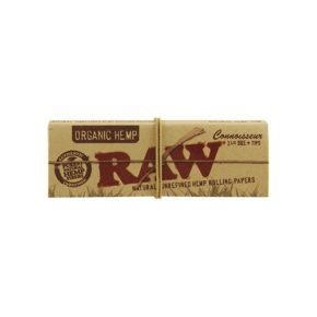 RAW Organic 1 ¼ + Tips | רו אורגני בינוני פילטר