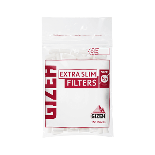 gizeh extra slim 5-3 filter tip גיזה פילטר ספוג צר 5-3