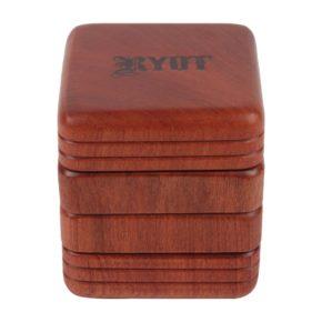 RYOT 4pc All Wood Grinder/Sifter | ריוט גריינדר 4 חלקים עם רשת