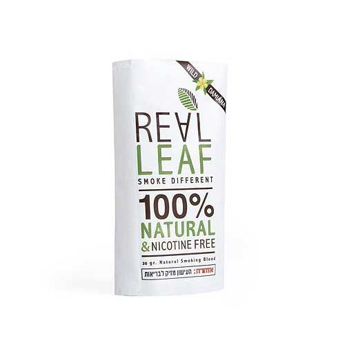 Real Leaf - Wild Damiana   ריליף דמיאנה תחליף טבק