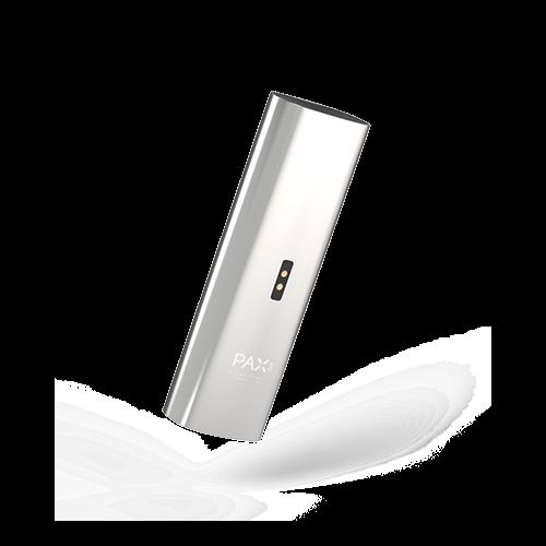 PAX 3 Vaporizer silver מכשיר אידוי וופורייזר נייד פאקס 3 כסף