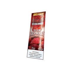 Juicy Natural Wraps Red Rum Raspberry | ג'וסי ג'יי בלנט רום אדום