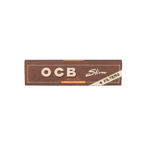 OCB Unbleached KS + Tips | או סי בי חום גדול פילטר