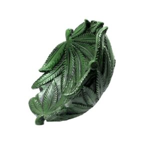 Cannabis leaf ashtray | מאפרת עלי קנאביס