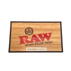 Raw Natural Bamboo Door Mat | רו שטיח כניסה מבמבוק