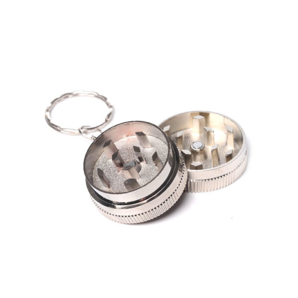 Aluminum Keychain Grinder | גריינדר מחזיק מפתחות