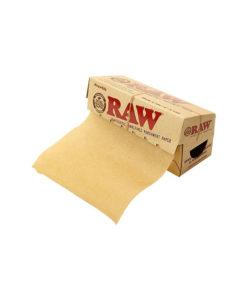 רו ניירות אפייה רול קטן | Raw rawthentic unrefined parchment paper 10cmX4m