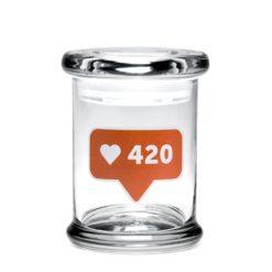 Medium Pop-Top - 420 Likes   צנצנת פופ-טופ M - צנצנת 420