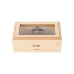 RYOT 4x7 GlassTop Box - Natural | ריוט קופסת טופ זכוכית גדולה - טבעי