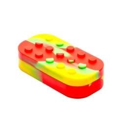 Multi-Compartment LEGO Silicone Container | אחסון מסיליקון למיצויים - 7 תאים