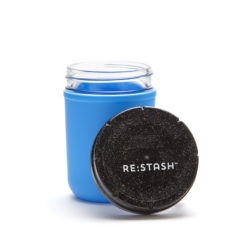 Re-Stash 8oz Childproof Stash Jar | צנצנת זכוכית עם הגנת ילדים