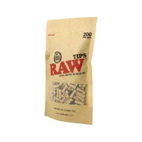 Raw 200 Pre-rolled Tips | רו 200 פילטרים מגולגלים