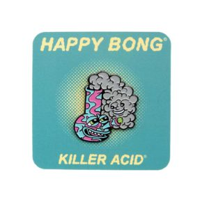 Killer Acid Happy Bong Enamel Pin | סיכה מגניבה - באנג שמח