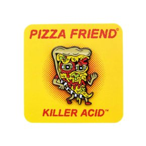 Killer Acid Pizza Friend Enamel Pin | סיכה מגניבה - פיצה