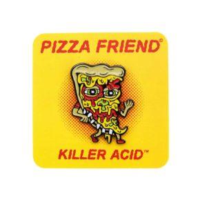 Killer Acid Pizza Friend Enamel Pin | סיכה מגניבה - פיצה