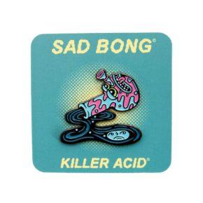 Killer Acid Sad Bong Enamel Pin | סיכה מגניבה - באנג עצוב