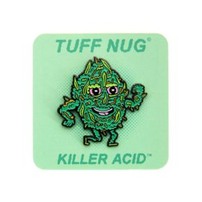 Killer Acid Tuff Nug Enamel Pin | סיכה מגניבה - פרח קשוח