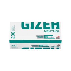 Gizeh menthol Tip 200 | גיזה סיגרה מגולגלת ריקה - מנטה