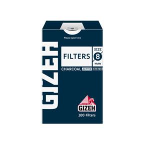 Gizeh 8mm Charcoal | גיזה פילטר 8 פחם