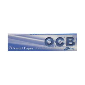 OCB Crystal KS Slim + Tips | או סי בי קריסטל גדול פילטר