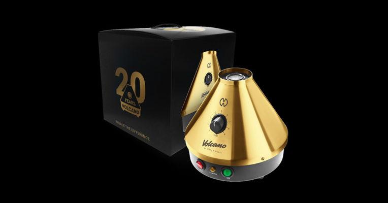 וופורייזר וולקנו זהב 20 שנה