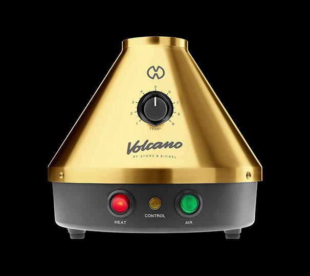 וופורייזר וולקנו זהב volcano vaporizer