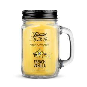 נר ריחני - וניל צרפתי | Beamer Candle - Ol' Fashion French Vanilla