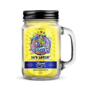 Beamer Candle - 70's Lovin | נר לנטרול ריחות