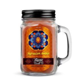 נר לנטרול ריחות | Beamer Candle - Moroccan Amber