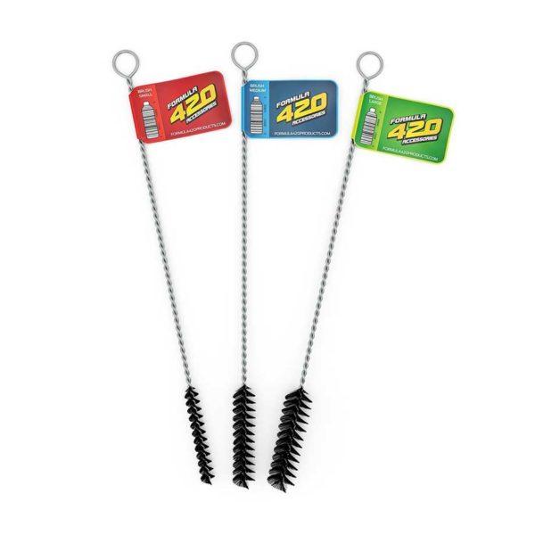 סט מברשות חוטר ארוכות | Formula 420 Detailing Brushes