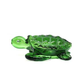 Small Glass Pipe - Sea turtle | מקטרת פייפ זכוכית - צב ים