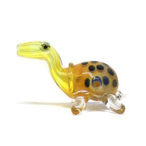 Small Glass Pipe - Geoemydidae   מקטרת פייפ זכוכית - צב בריכה