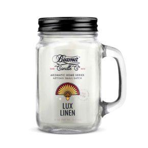 נר ריחני - פשתן | Beamer Candle - Lux Linen